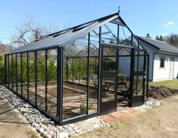 Juliana Gardener 21,4m² karastatud klaasiga