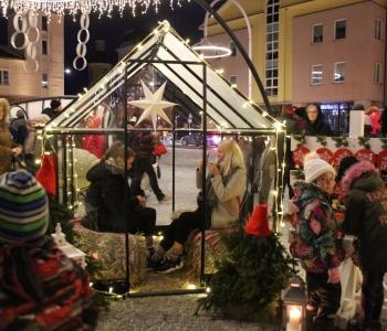Jõulupäkapiku maja Halls Qube Võrus